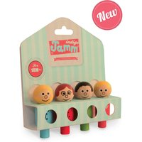 Wooden People Set Family