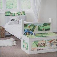 Children's Farm Bed With Nightlights