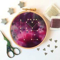 Valentine's Day Cross Stitch Kit