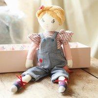 Mademoiselle Eglantine Parisian Rag Doll