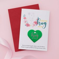 Personalised Loved One 'Mouse' Hug Token Card