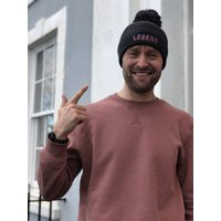 Father's Day Embroidered Personalised Woolly Hat