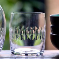 A Crystal Carafe Glass: Lens Design