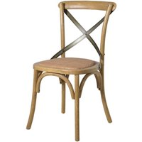 Bentwood Natural X Back Dining Chair