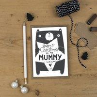 1st Christmas As A Mummy Card
