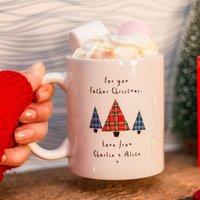 Christmas Eve Personalised Santa Mug
