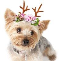 Puppy Dog Floral Crown