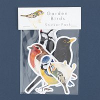 Garden Bird Vinyl Stickers