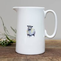 Sheep Half Pint Fine Bone China Jug