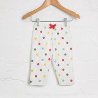 Spot Print Pyjama Joggers