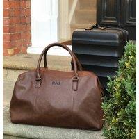 Personalised Weekend Holdall Bag