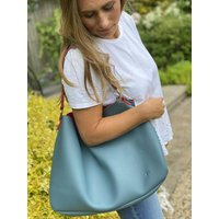 Sulu Non Leather Vegan Slouch Tote Bag