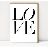 Elegant Love Greetings Card