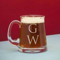 Monogram Crystal Beer Tankard