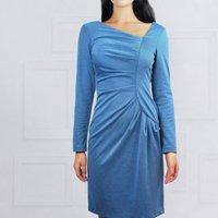 Frieda Dress Blue, Blue