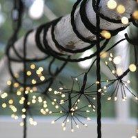 Solar Starburst Chain Garden Lights