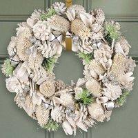 Silver Bells Luxury Natural Wreath