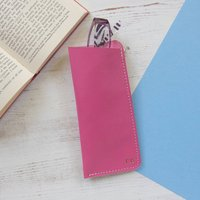 Personalised Leather Spectacle Case