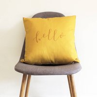Hello Cushion
