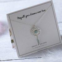 Dreamcatcher Sterling Silver Necklace, Silver