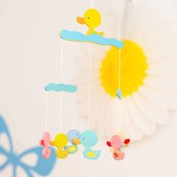 Personalised Colourful Duck Mobile