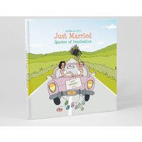 Personalised Mrs And Mrs 'Just Married' Book