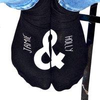 Personalised 'And Symbol' Socks