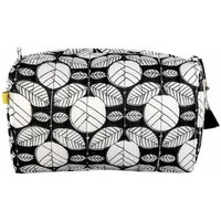 Degana Deco Rose Make Up Bag In Black