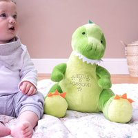 Personalised Dinosaur Childrens Soft Toy