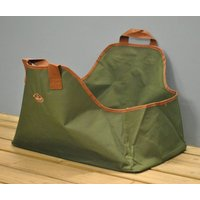 Canvas Log Carrier And Wood Storage Bag