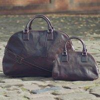 Personalised Large Womens Travel Bag Liliana L
