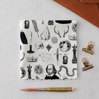 Shakespeare Symbols Handkerchief Pocket Square