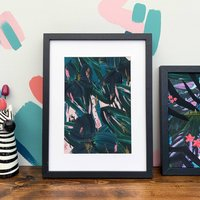 'Rainforest Leaves' Botanical Leaf Print
