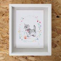 Kitten Illustration Print Limited Edition