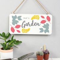 Mums Garden Sign