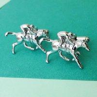 Race Horse Cufflinks