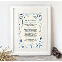 Personalised Your Favourite Words Print