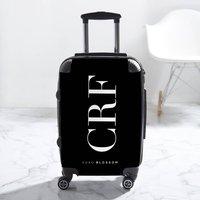Statement Black Personalised Suitcase