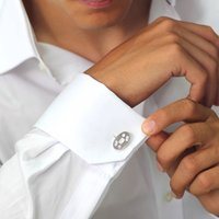 Oval Hallmark Feature Cufflinks