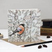 'Bullfinch' Christmas Card