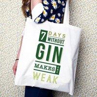 Funny Gin Tote Bag