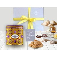 Sicilian Cookies In Decorated Tin Gift Box