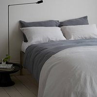 Lens Charcoal Bed Linen Set