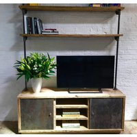 Lori Reused Scaffolding And Pipe Media Storage Unit