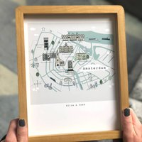 Personalised Our Favourites Places Print