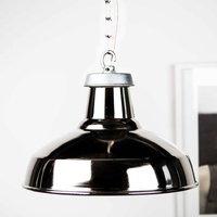 Silver Industrial Pendant Light
