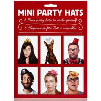 Set Of Six Party Hats