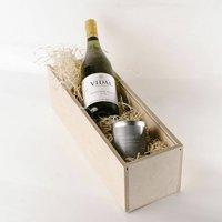 Vidal Sauvignon Blanc + Candle In Personalised Box