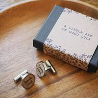 'Touch Wood' Cufflinks