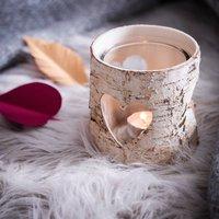 Birch Bark Vase / Candle Holder